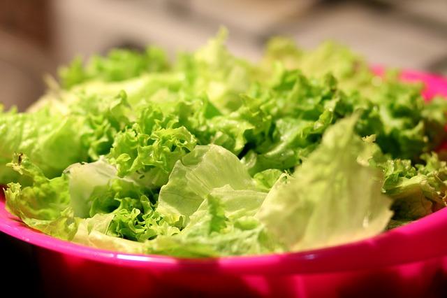 Liście sałaty
