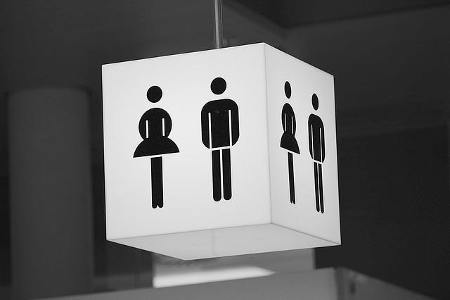 Znak toalety publicznej