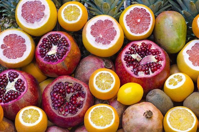 owoce-cytrusy-witaminy-wartości-odżywcze