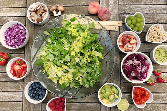 Bogactwo owoców i warzyw