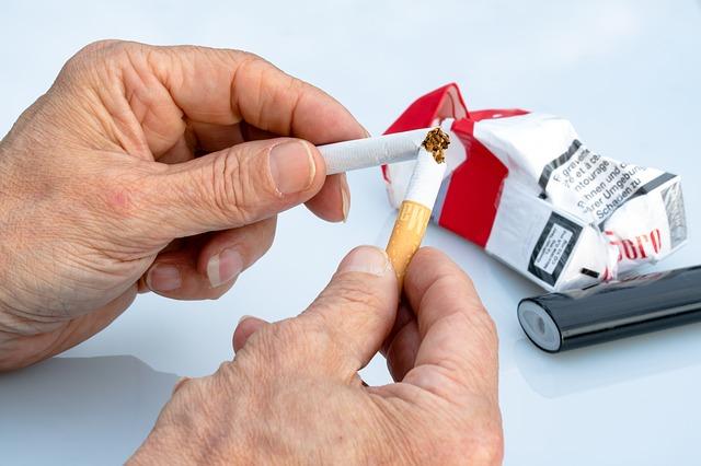 wrzody a palenie papierosów